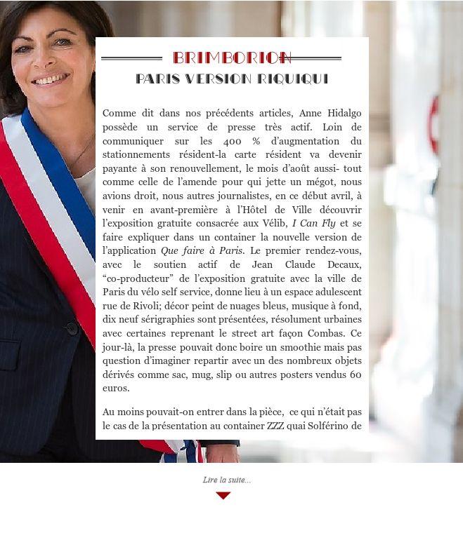 Paris version riquiqui