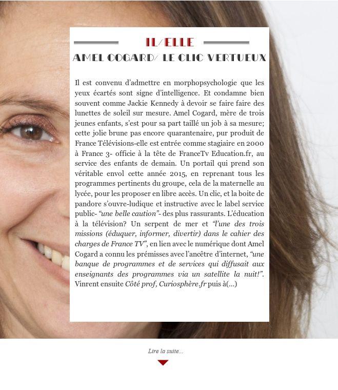 Amel Cogard/ Le clic vertueux