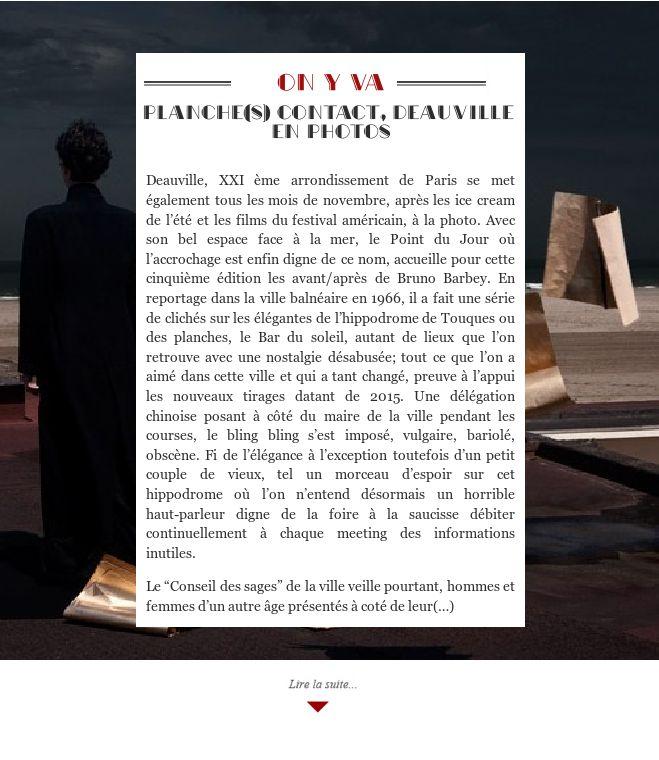 Planche(s) contact, Deauville en photos