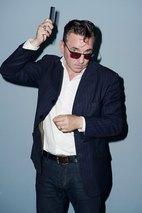 Richard Hawley, Paris, 10 juillet 2015.
