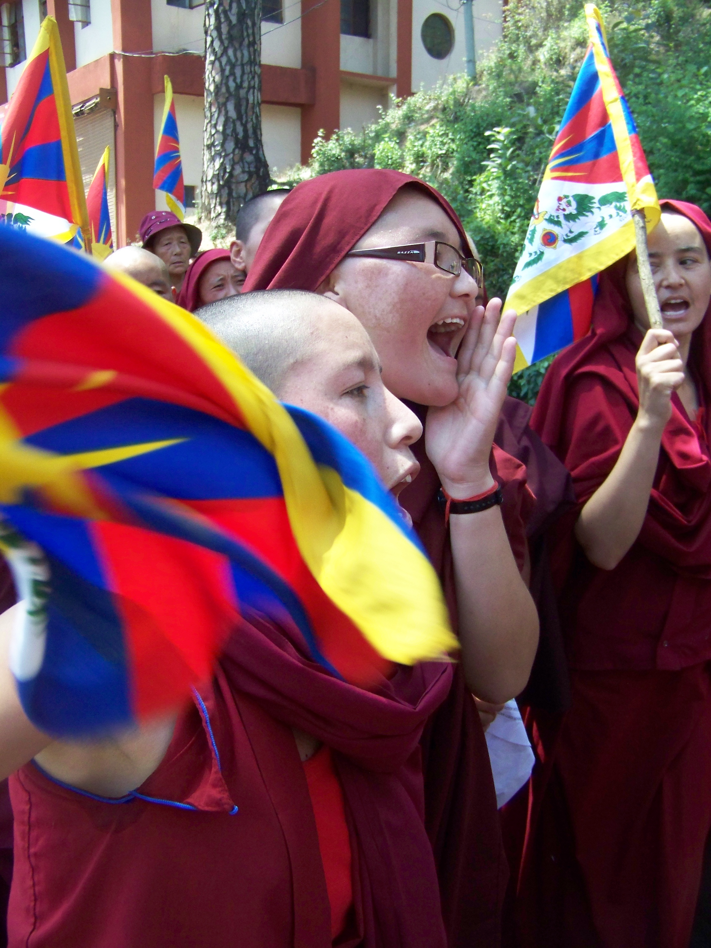 100_3356 Jonathan Machler, Tibétains à Dharamsala, Copyright