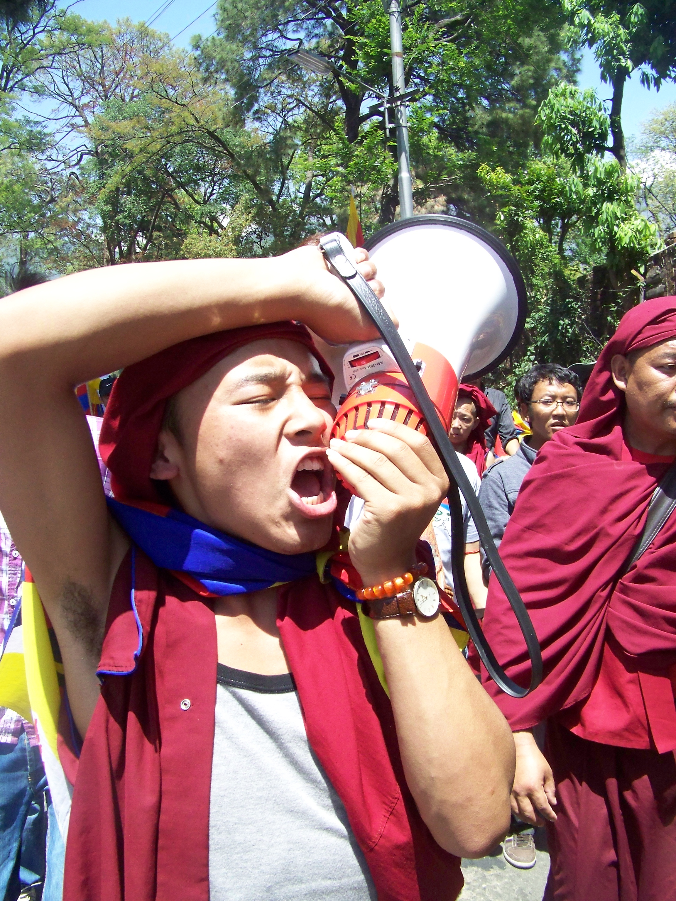 100_3378 Jonathan Machler, Tibétains à Dharamsala, Copyright