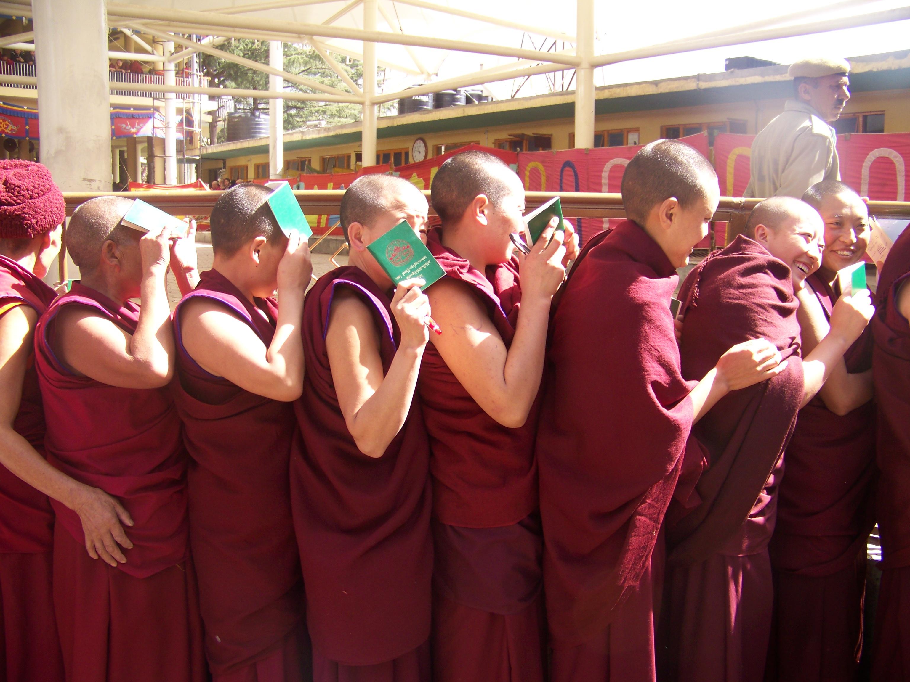102_2268 Jonathan Machler, Tibétains à Dharamsala, Copyright