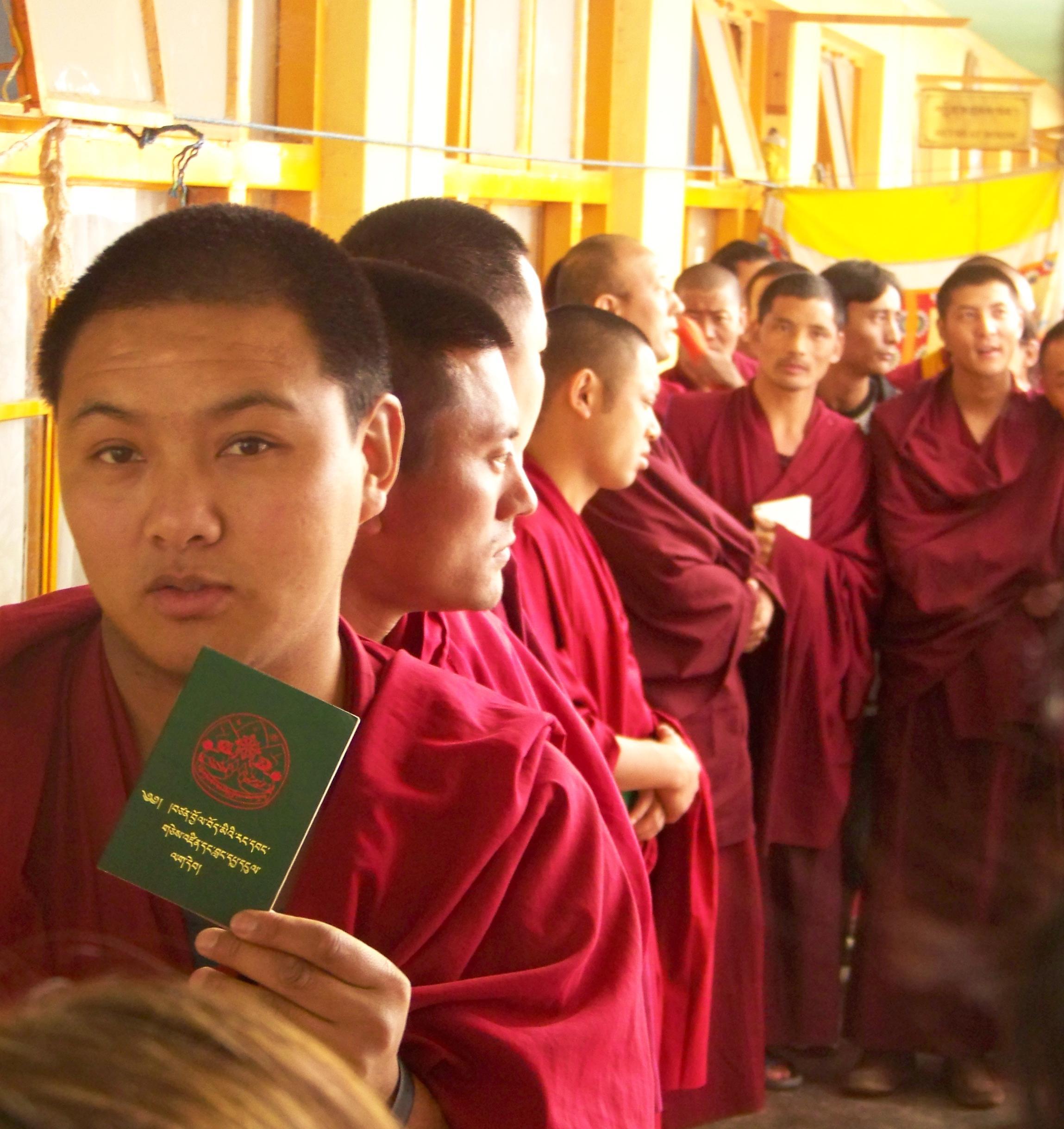 102_2339 Jonathan Machler, Tibétains à Dharamsala, Copyright