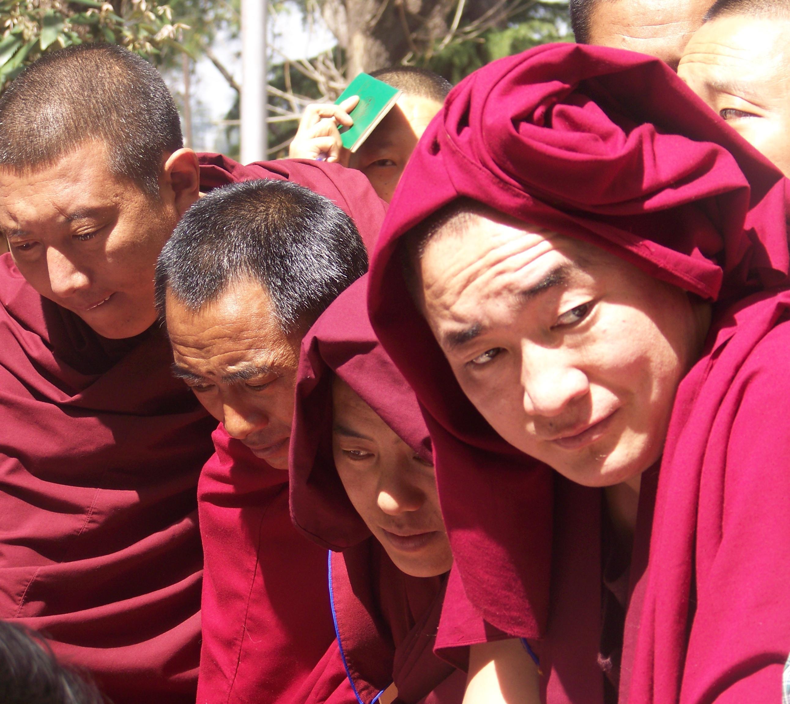 102_2358 Jonathan Machler, Tibétains à Dharamsala, Copyright