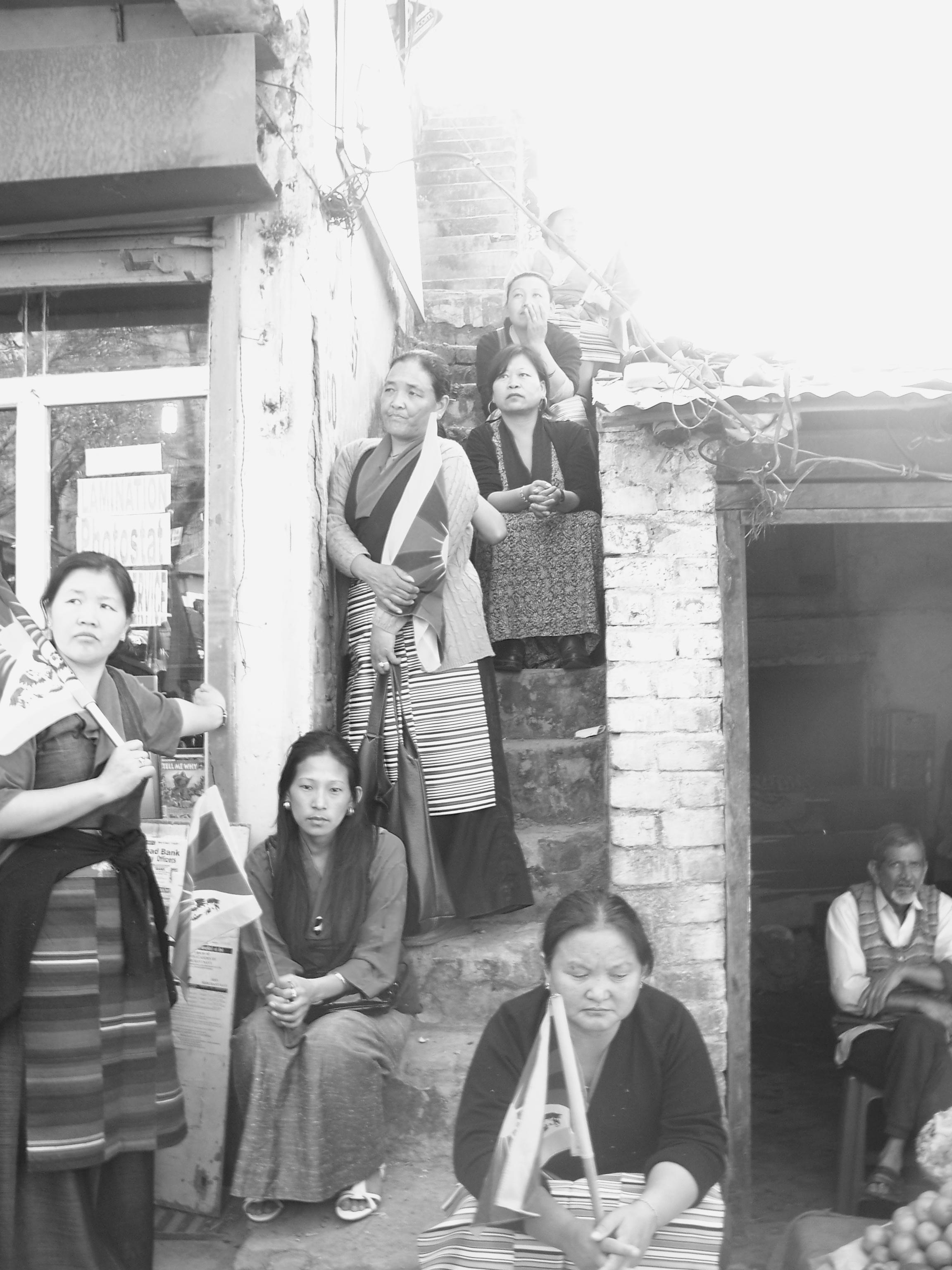 201_1895 Jonathan Machler, Tibétains à Dharamsala, Copyright