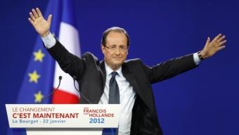 Hollande a décollé du Bourget