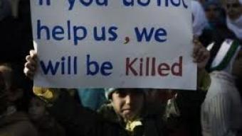 Là bas, à Homs