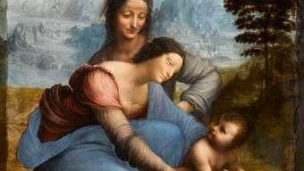 Le Louvre/ Sainte Anne retrouvée