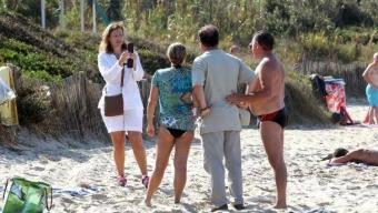 Photographe de plage