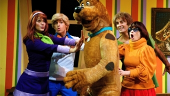 Scooby-doo et Karl Lagerfeld en Egypte
