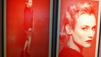 Halsman, l'artiste versus Lagerfeld, le «modeur»