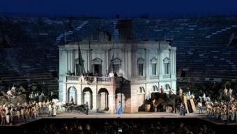 Les Arènes de Vérone à l'heure du Risorgimento