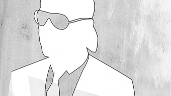Karl Lagerfeld se défile