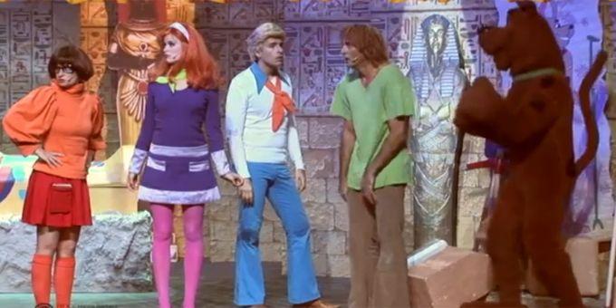 Scooby doo et karl lagerfeld en egypte jim le pariser - Personnage scooby doo ...