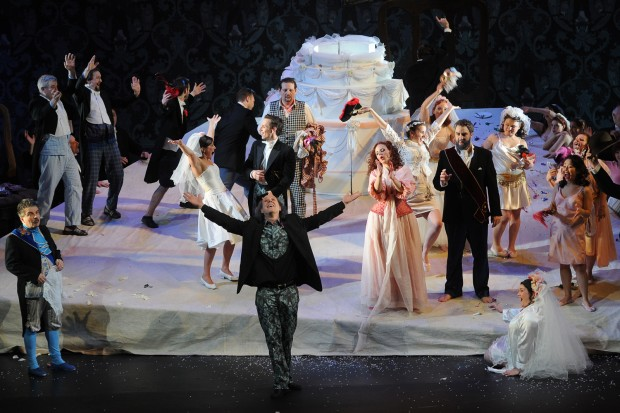 NANCY : Opera, Pre Generale Barbe Bleue